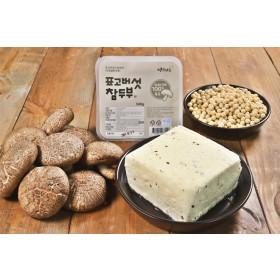 표고버섯 참두부 한모(500g) /국내산콩100%/직접농사/의성마늘/땅빛채운/도향